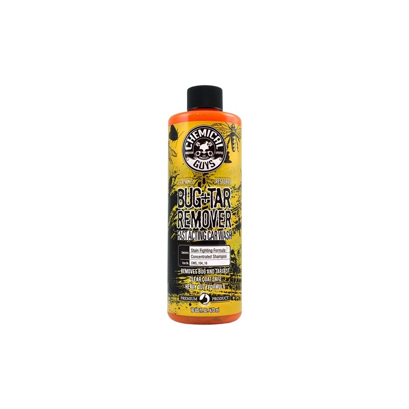 Bug tar heavy duty car wash shampoo chemical guys