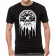 WHITE DRIPPING LOGO SHIRT, SEMA 2015 EDITION