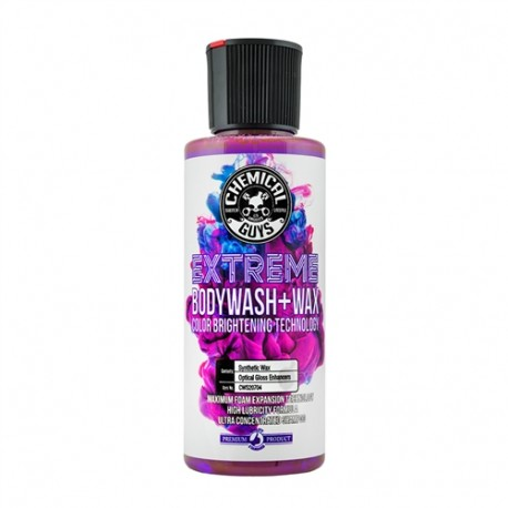 Extreme Bodywash & Wax Car Wash Soap with Color Brightening Technology (4oz)