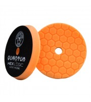 Hex-Logic Quantum Medium-Heavy Cutting Pad, Orange (5.5 Inch / 140 mm)