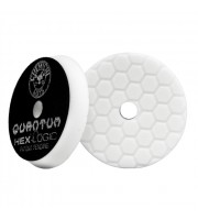Hex-Logic Quantum Light-Medium Polishing Pad, White (5.5 Inch / 140 mm)