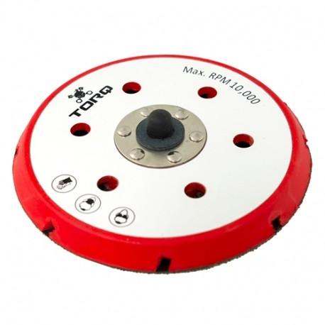 """TORQ R5 Red Backing Dual-Action Plate 6-unašeč na orbitální leštičku (6"""" / 155 mm)"""