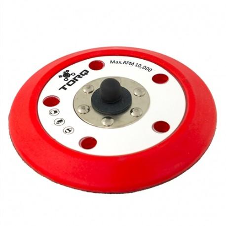 """TORQ R5 Red Backing Dual-Action Plate 5-unašeč na orbitální leštičku (5"""" / 125 mm)"""