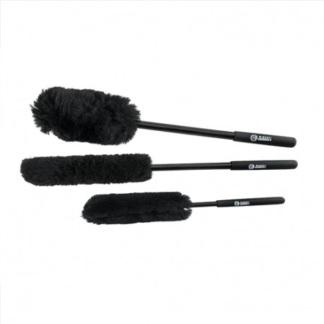 Extended Reach Wheel Gerbils Wheel and Rim Brushes (3 ks)