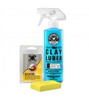 Clay Bar & Luber Synthetic Lubricant Kit, Light/Medium Duty