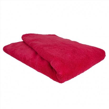 Chubby Supra Microfiber Towel, Red-antistatická Mikrovláknová utěrka-k sušení karoserie,suché stírání prachu,