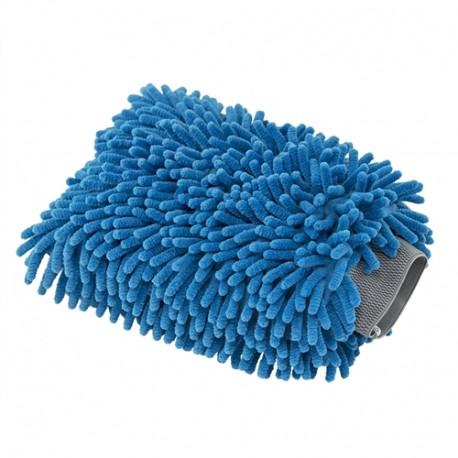 ChemicalGuys-Chenille Microfiber Wash Mitt Blue-měkká mycí rukavice ze 100% Mikrovlákna