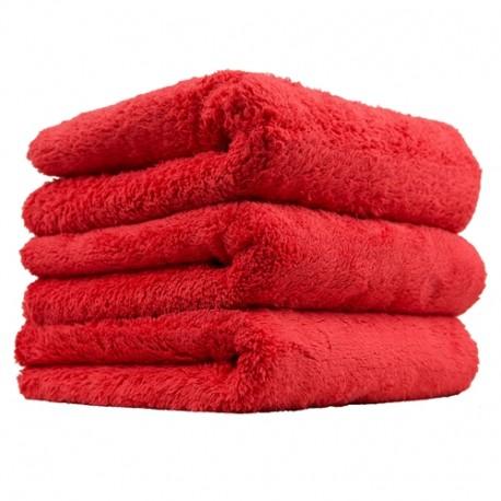 Happy Ending Edgeless Microfiber Towel-Mikrovláknová utěrka červená-jemné čištění,stírání prachu v inter.+exter.