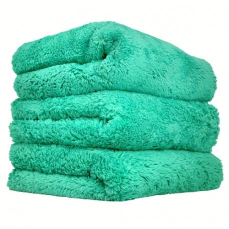 Happy Ending Edgeless Microfiber Towel-Mikrovláknová utěrka zelená-jemné čištění,stírání prachu v inter.+exter.