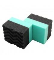 Durafoam Contoured Large Tire Dressing Applicator Pad-speciální aplikátor k nanášení impregnačních přípravků,dressingů a gelů