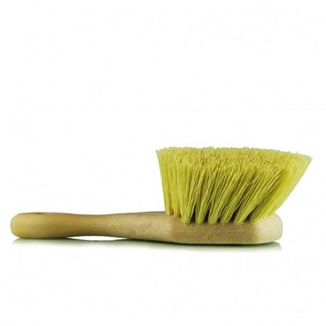 Chemical Resistant Stiffy Brush,Yellow-tvrdý kartáč na čištění pneumatik,podběhů,silně znečištěních míst