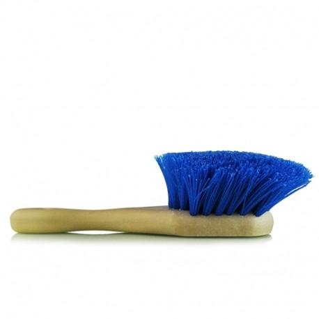Chemical Resistant Stiffy Brush,Blue-středně tvrdý kartáč na čištění pneumatik,podběhů,silně znečištěních míst