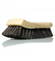Long Bristle Horse Hair Leather Cleaning Brush-kartáč z dlouhých koňských žíní k čistění všech povrchů z přírodní kůže