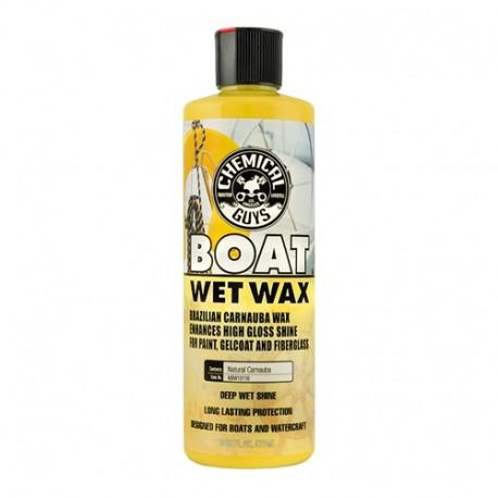 Marine and Boat Wet Wax-finální leštěnka s přírod.karnaubským voskem,vysoký lesk,dlouhodobá ochrana