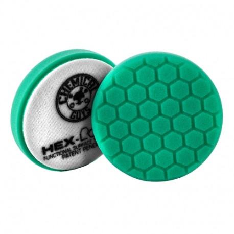 """Zelený tvrdší lešticí kotouč Hex Logic (4"""" / 100 mm)"""