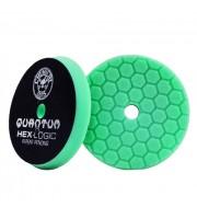 """Zelený tvrdší lešticí kotouč Hex Logic Quantum (6.5"""" / 165 mm)"""