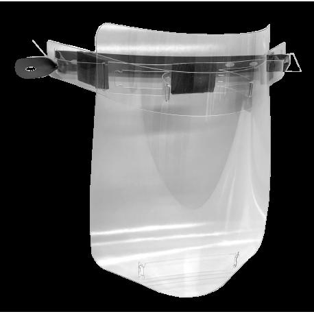 Ochranný štít omyvatelný transparentní