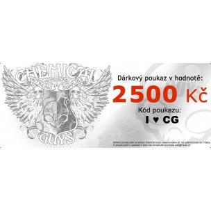 Dárkový poukaz na 2 500 Kč