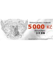 Dárkový poukaz na 5 000 Kč