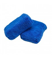 Monster Fluff Exterior Premium Microfiber Applicator, Blue