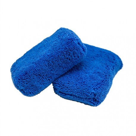 Monster Fluff Exterior Premium Microfiber Applicator, Blue