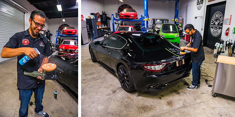 BUF_301, Before and after, Pad Condioner, Hex Logic, Maserati