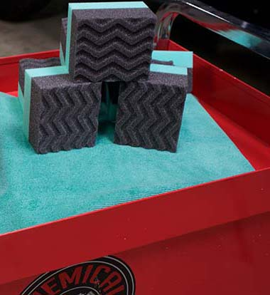 tires and trim shine applicator