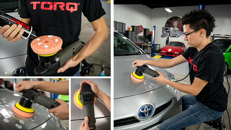 TORQ Tool Company - TORQ Polishers - Prius - Paint Correction