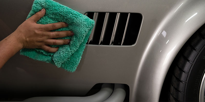 shelby cobra - scratchless drying towel